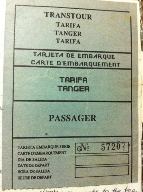 Ticket to Tangier